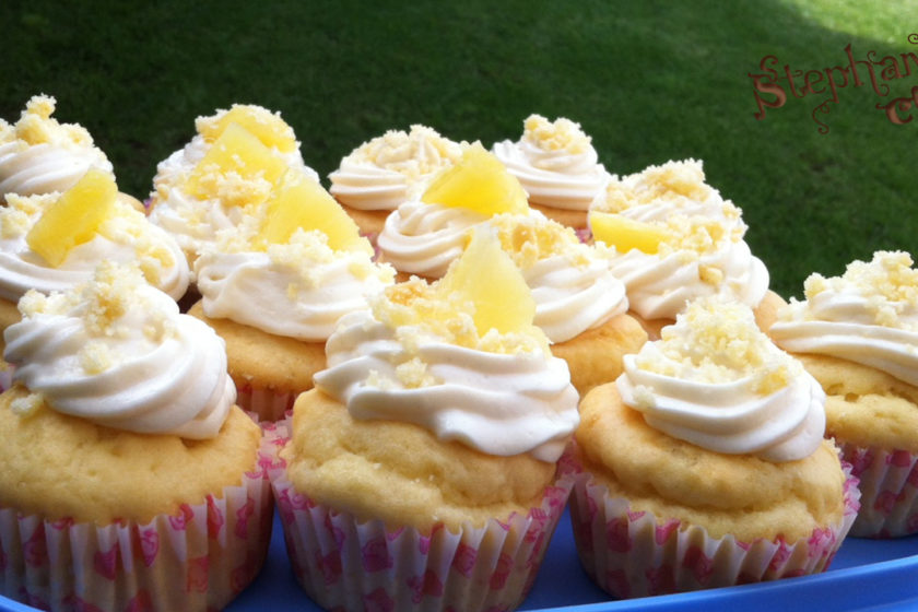 Mimosa cupcakes - Mother's day