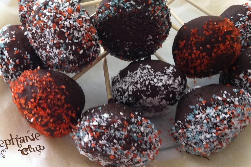 Cake pops - Praline di torta senza lattosio