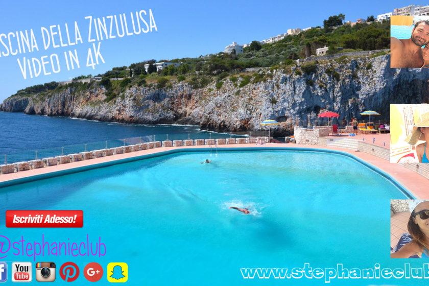 La piscina della Zinzulusa in 4K con Xiaomi Yi 2