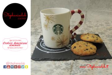 American Cookies lactose free - senza lattosio - ricetta di Natale
