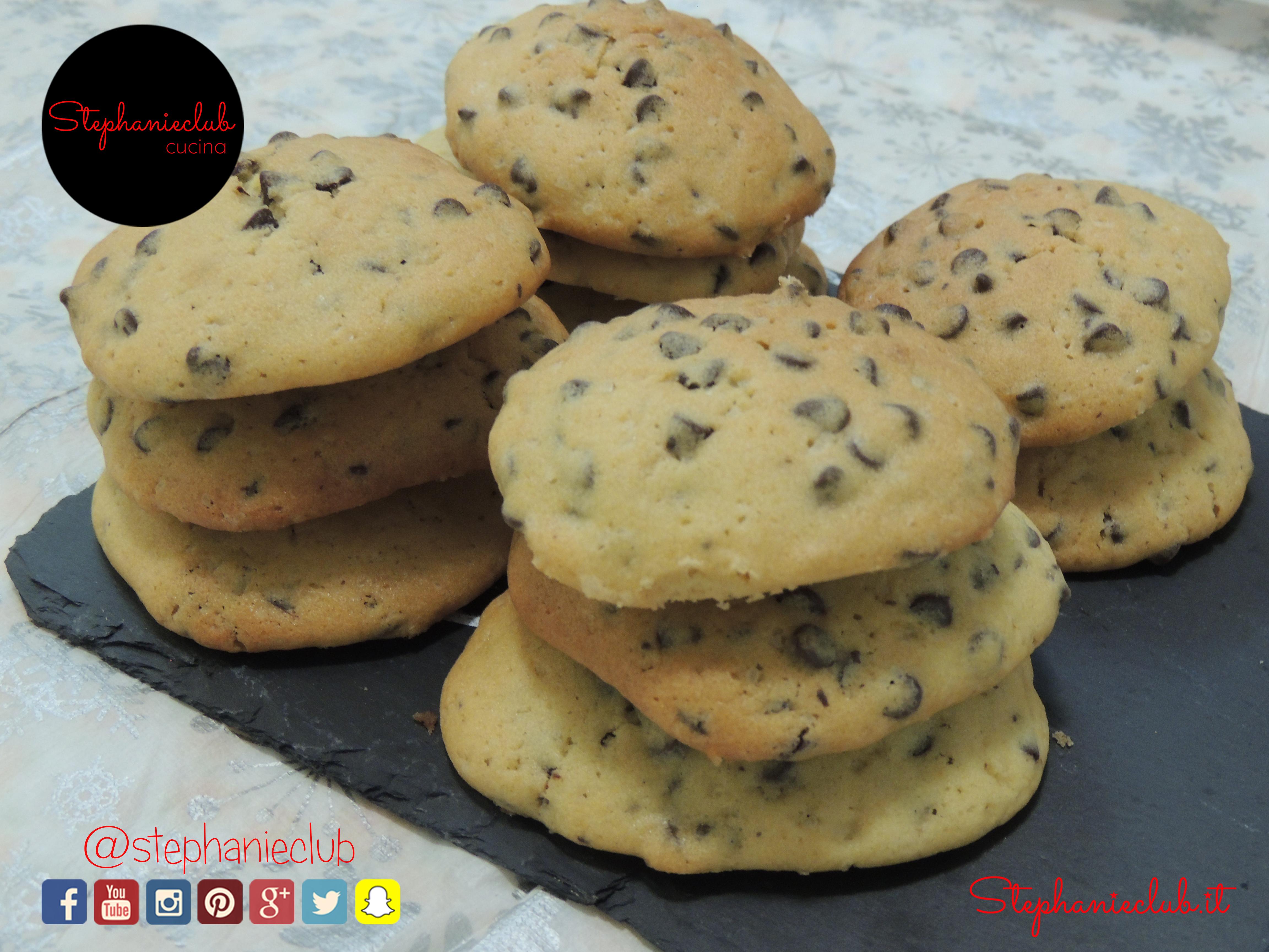 American Cookies lactose free - senza lattosio - ricetta di Natale_02