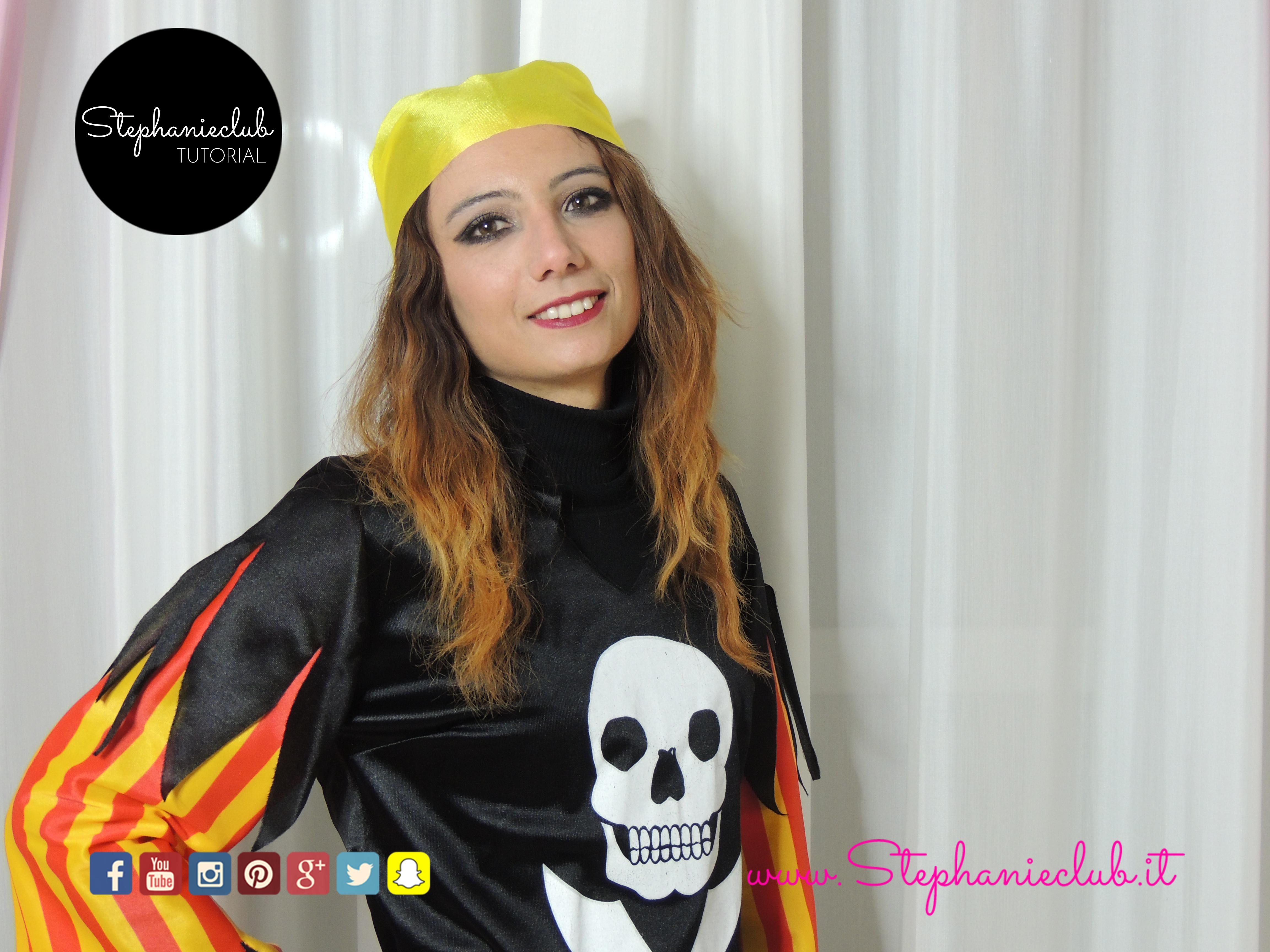 Tutorial Pirate Carnival's Makeup_02