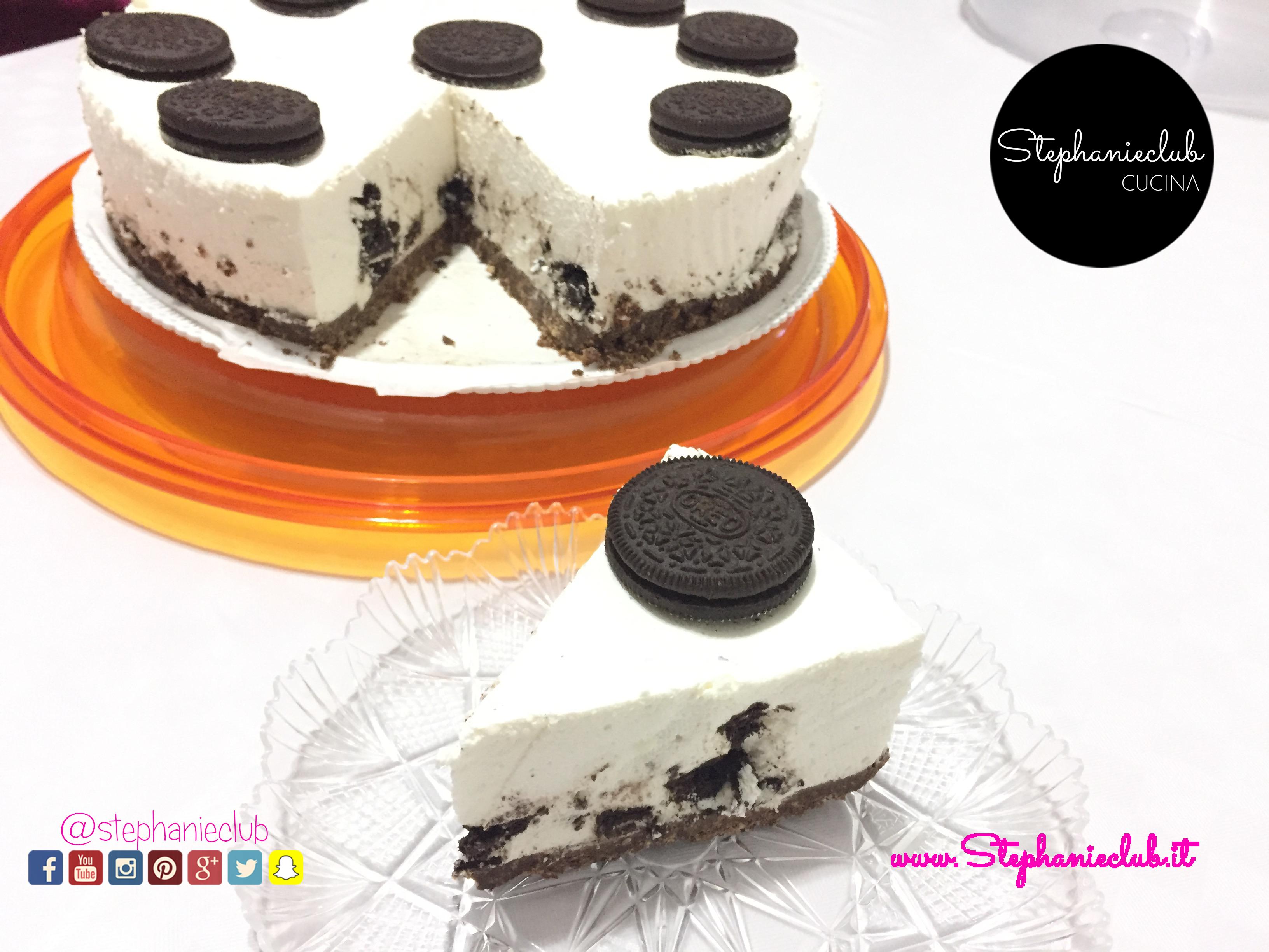 Cheesecake OREO - no bake - senza cottura - senza lattosio_02