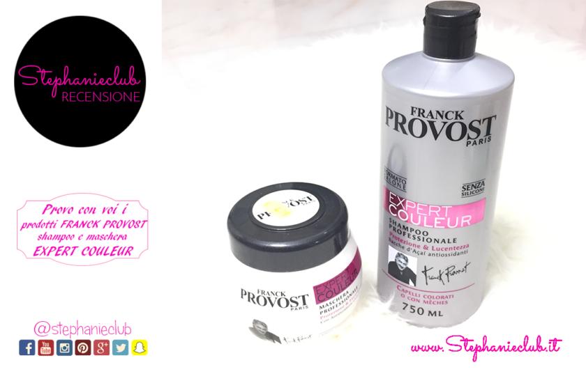 Recensione shampoo e maschera Franck Provost - Expert Couleur