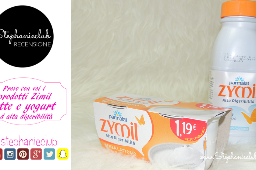 Recensione Latte e Yogurt Zymil Parmalat ad alta digeribilita'