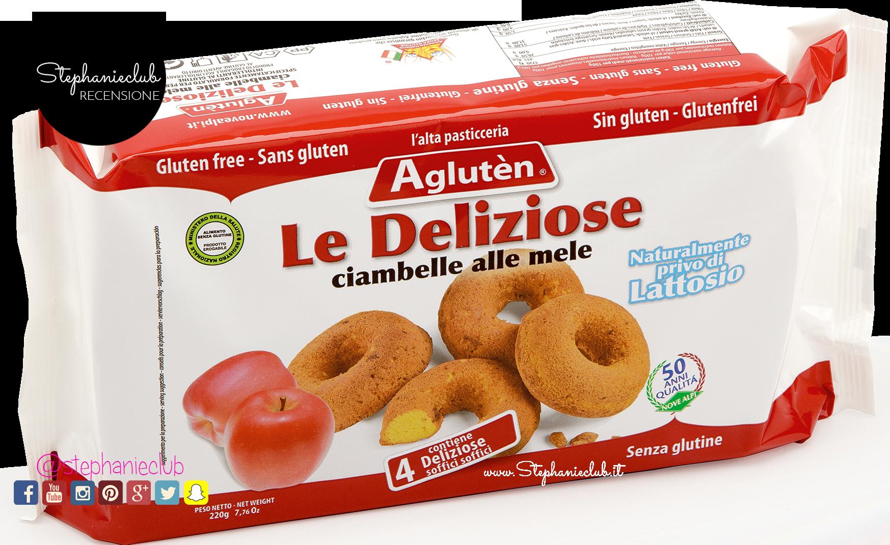 Recensione Le deliziose ciambelle alle mele - Agluten_02