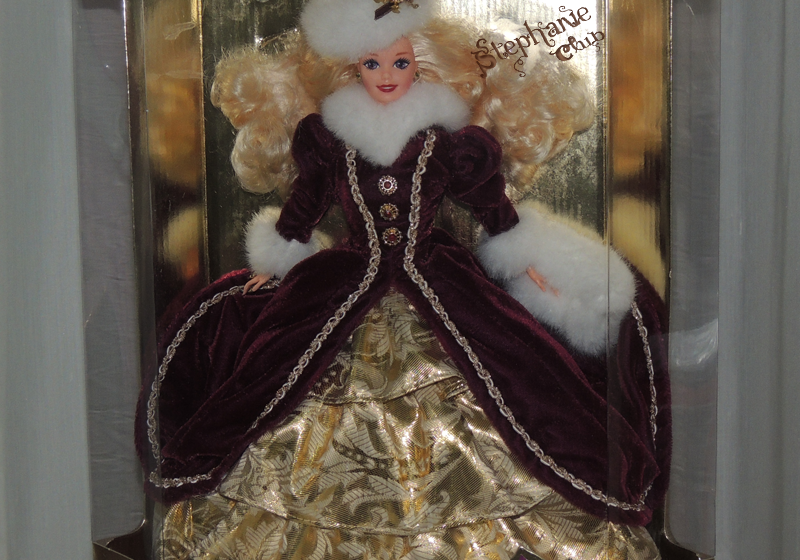 1996 Happy Holidays Barbie Mattel