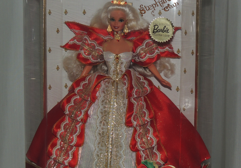 1997 Happy Holidays Barbie Mattel