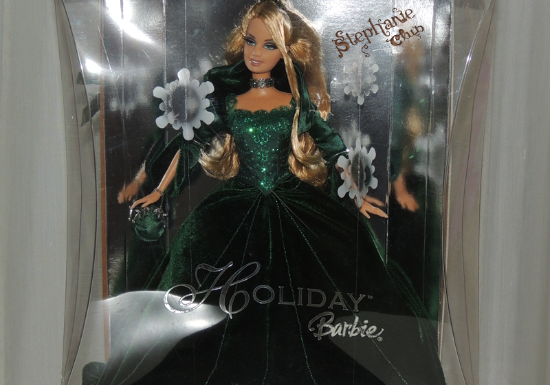 2004 Holiday Barbie Mattel