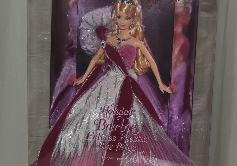 2005 Holiday Barbie Doll by Bob Mackie