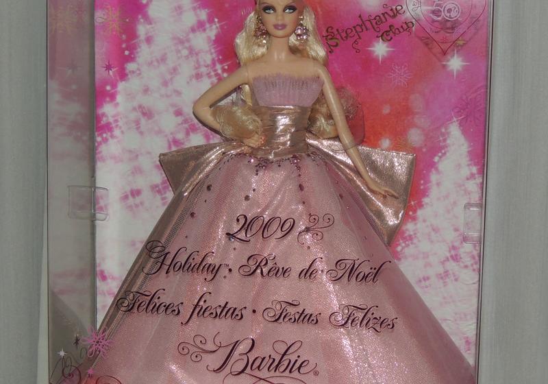2009 Holiday Barbie Mattel