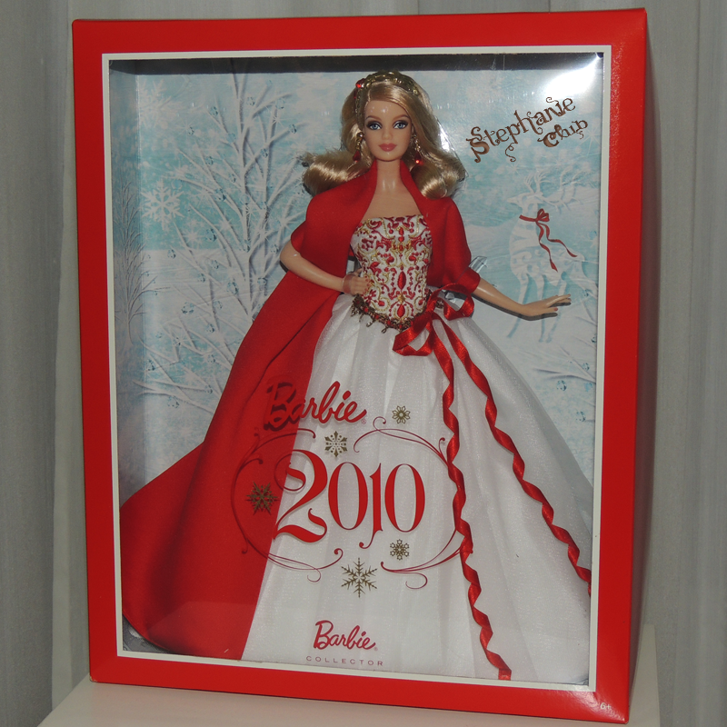 2010 Holiday Barbie Mattel