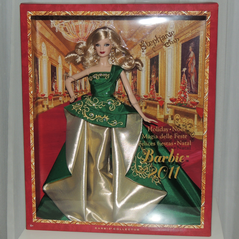 2011 Holiday Barbie Mattel