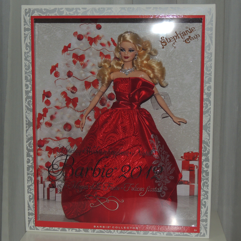 2012 Holiday Barbie Mattel