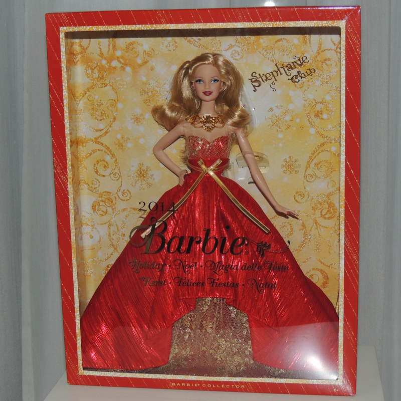 2014 Holiday Barbie Mattel
