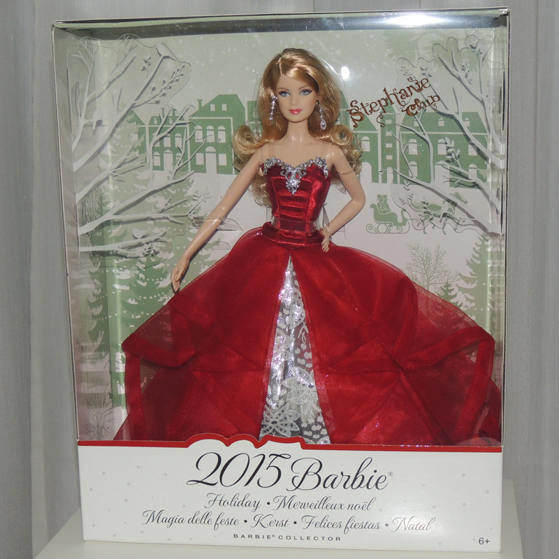 2015 Holiday Barbie Mattel