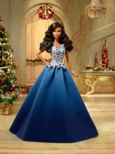 2016 Holiday Barbie Turchese blu