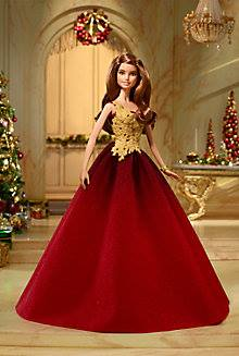 2016 Holiday Barbie rossa