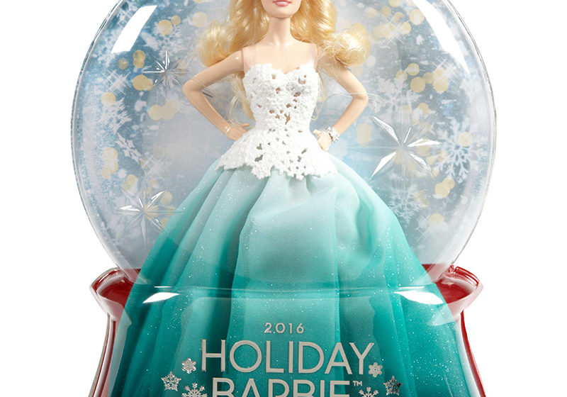 2016 Holiday Barbie Turchese