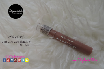 Recensione Ombretto Essence 2 in 1 Eyeshadow e Liner Waterproof