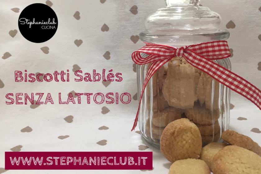 Biscotti Sablés - senza lattosio