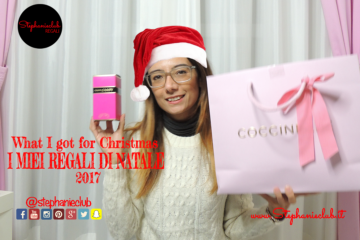 What I got for Christmas - I MIEI REGALI DI NATALE 2017