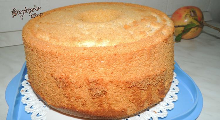 Chiffon cake aromatizzata alla menta