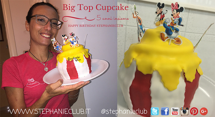Big Top Cupcake di compleanno