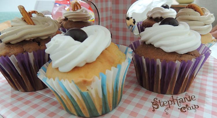 Cupcakes alle tre creme senza lattosio