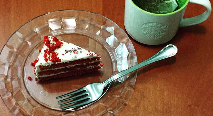Red Velvet Cake American Bakery senza lattosio