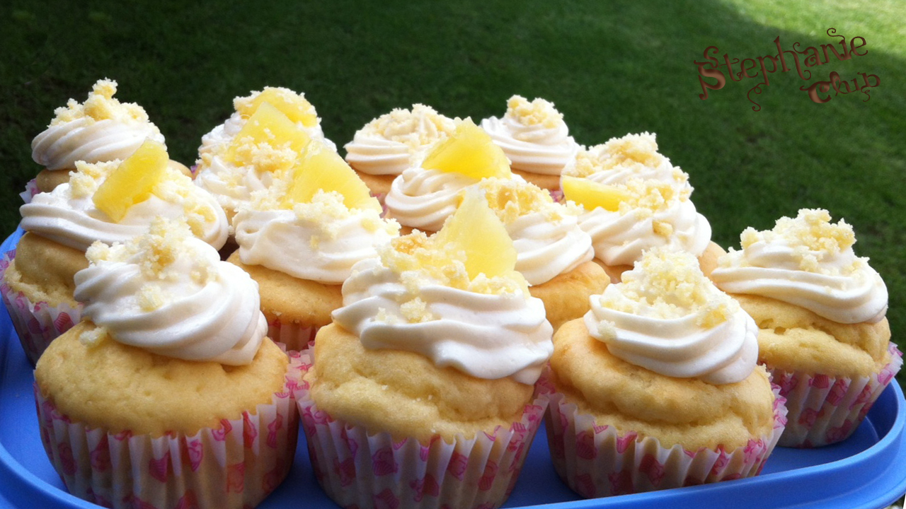 Mimosa cupcakes – Mother's day