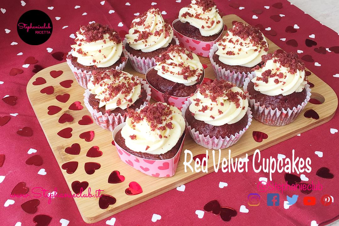 Red Velvet Cupcakes – senza lattosio